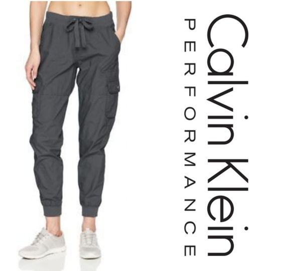 b682ada5f Calvin Klein Performance Pants | Nwt Cargo Joggers | Poshmark
